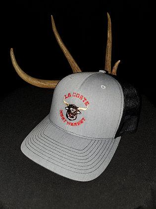 Grey LaCoste Meat Market Hat