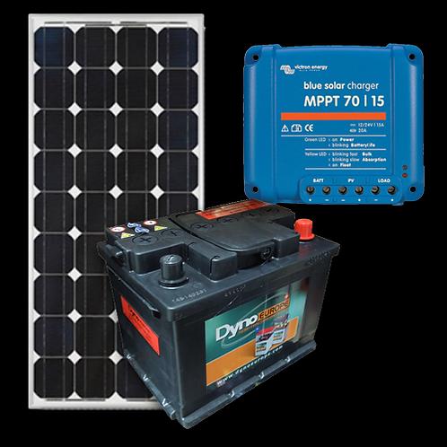Kit Solar 400W - Apoio Residencial