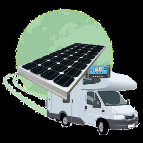 Kit Solar 150W - Autocaravanas