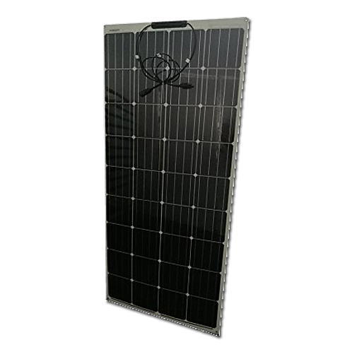 Painel Fotovoltaico 150W Mono 12v Semi-Flexível