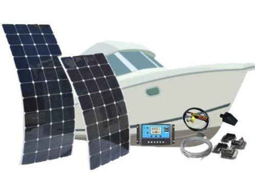 Kit Solar 200W FLEX - Embarcações
