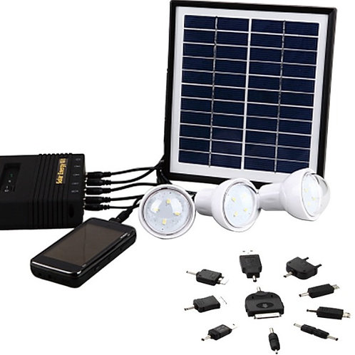 Mini-Sistema Solar para Iluminação