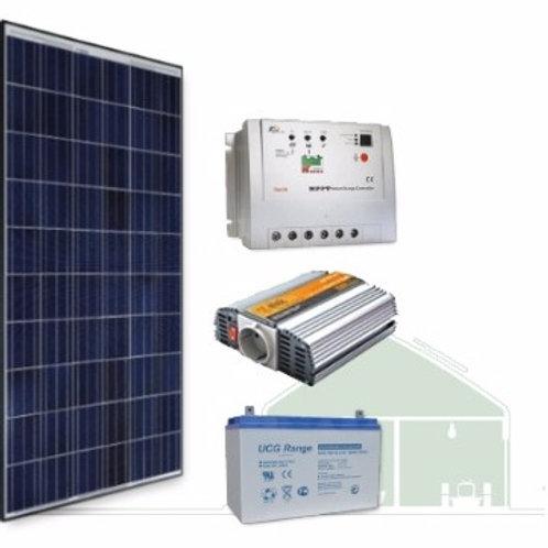 Kit Solar 1000W - Apoio Residencial