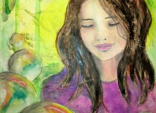 A portrait of a friend