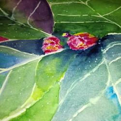 #aquarelle #watercolor #artoftheday #art