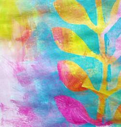 #mixedmedia #plant #favouritecolours #ye