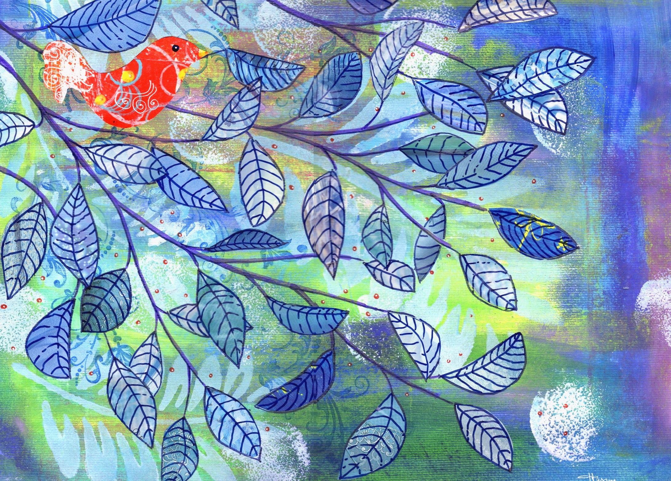 blue branch