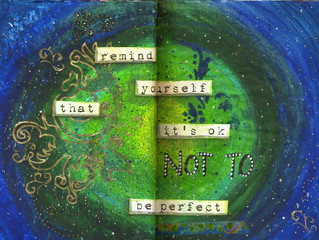 How to build self esteem by art journaling