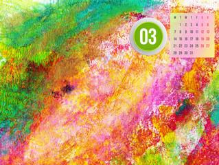 Calendar for March 2016