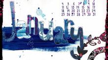 Calendar for January 2021