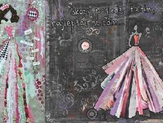 Art journaling - The beginning