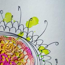 #creativefun #detail #artjournaling #art