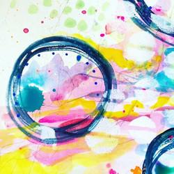 #abstract #abstractpainting #circles #wa