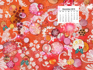 Calendar for December 2015