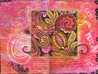 Art journal 2013 - Every start is a journey to the unknown