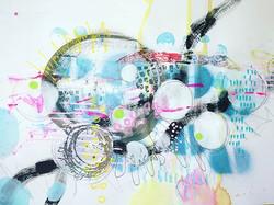 #abstract #mixedmedia #abstractseries #a