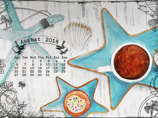 Calendar for August 2018
