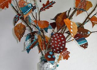 DIY autumn bouquet