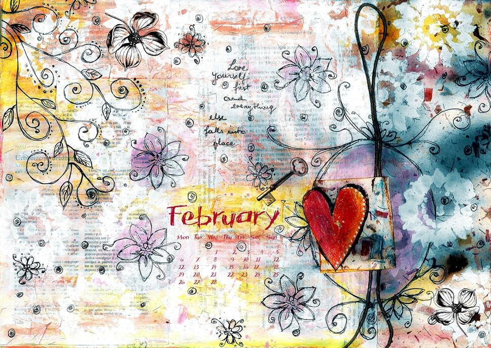 Calendar for Fabruary 2017