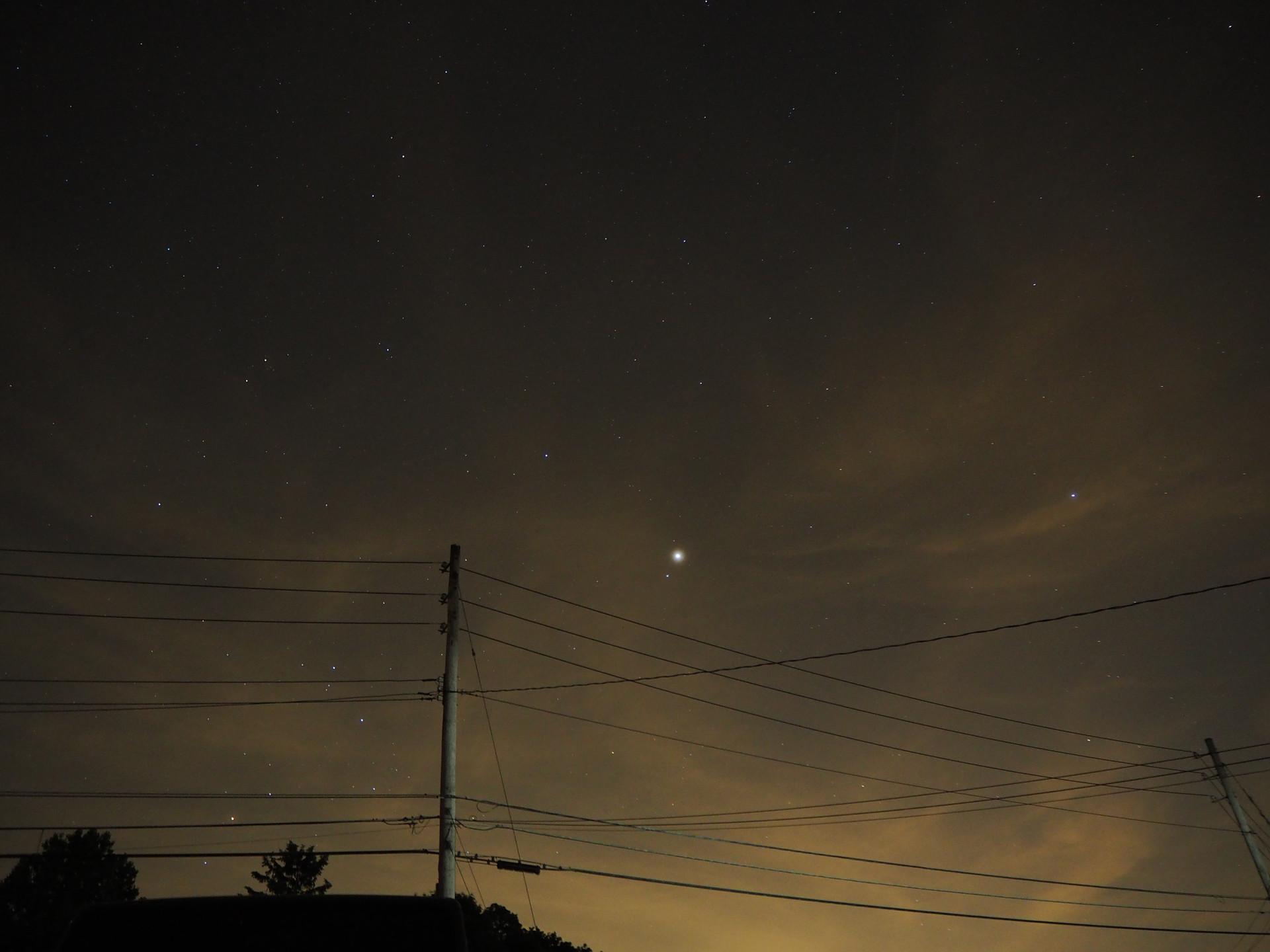 Venus making an appearance