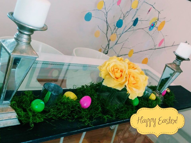 Creating an Easter Tablescape