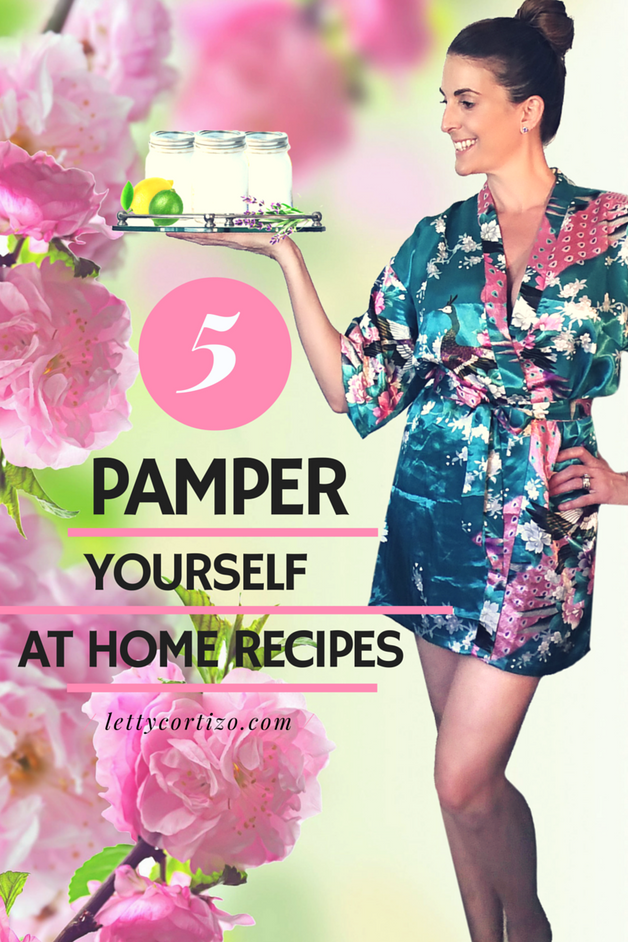 5 Recipes to Pamper Yourself at Home