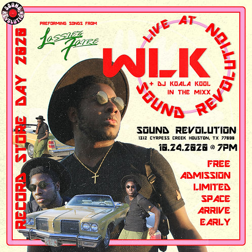 "WLK ""Live from Sound Revolution"" Poster"