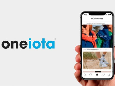 Leading online retailer, Woodhouse, chooses One iota to build their next generation mobile apps