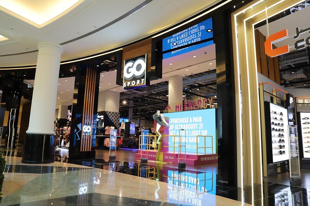 GO Sport store in Qatar
