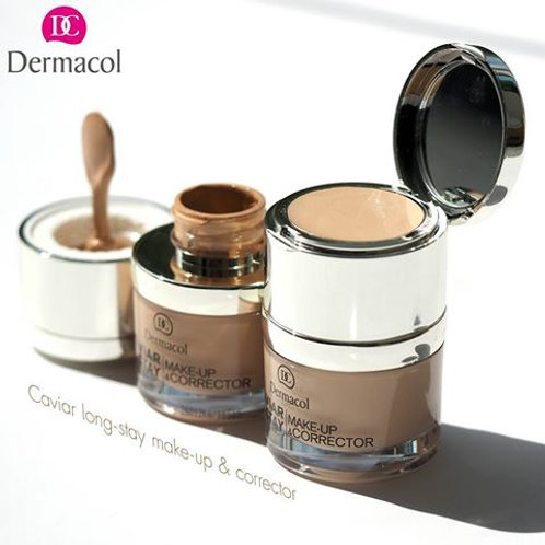 Maquillaje dermacol caviar long stay make up & corrector