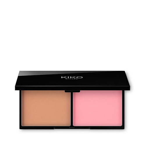 KIKO SMART BLUSH AND BRONZER PALETTE Paleta RUBOR Y BRONZER