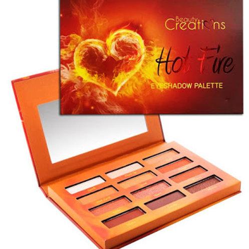 Paleta Hot Fire Beauty Creations