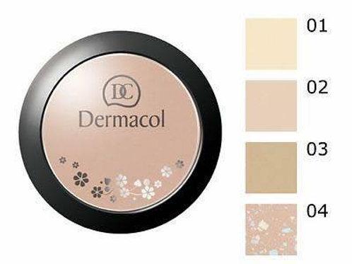 Polvo Dermacol mineral compact powder tonos disponibles # 1y 2