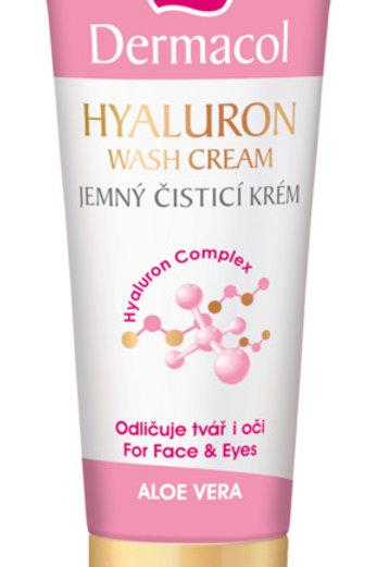 Crema desmaquillante con ácido hialurónico
