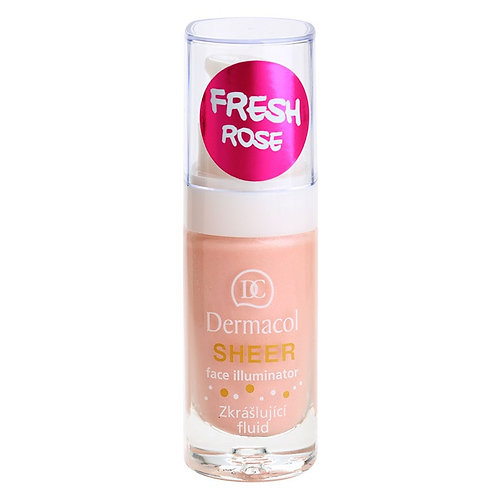 Dermacol sheer face illuminator rose fresh