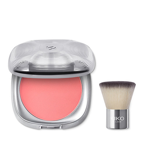 KIKO ARCTIC HOLIDAY BLUSH & BRUSH KIT