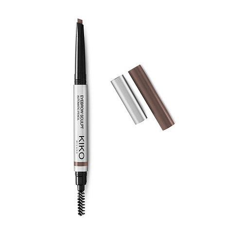 KIKO EYEBROW SCULPT AUTOMATIC PENCIL Lápiz automático cafe medio y cafe oscuro