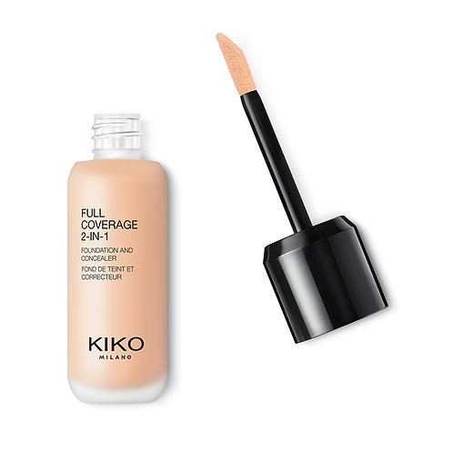 KIKO Full coverage 2 in 1 foundation & concealer