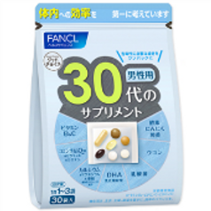 FANCL для  мужчин возраста 30+