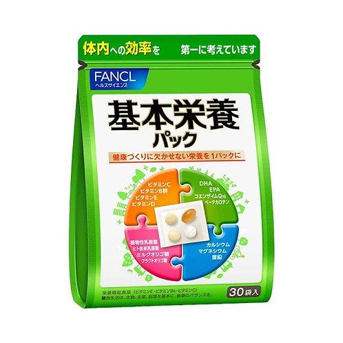 Базовый комплекс витаминов и минералов Fancl Basic Nutrition Pack