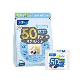 Fancl Комплексные витамины для мужчин 50+