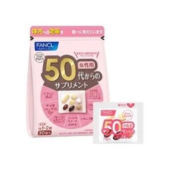 Fancl Комплексные витамины для женщин 50+