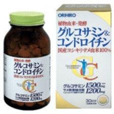 Orihiro Глюкозамин+Хондроитин