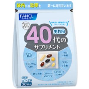 FANCL комлекс для мужчин  возраста 40+