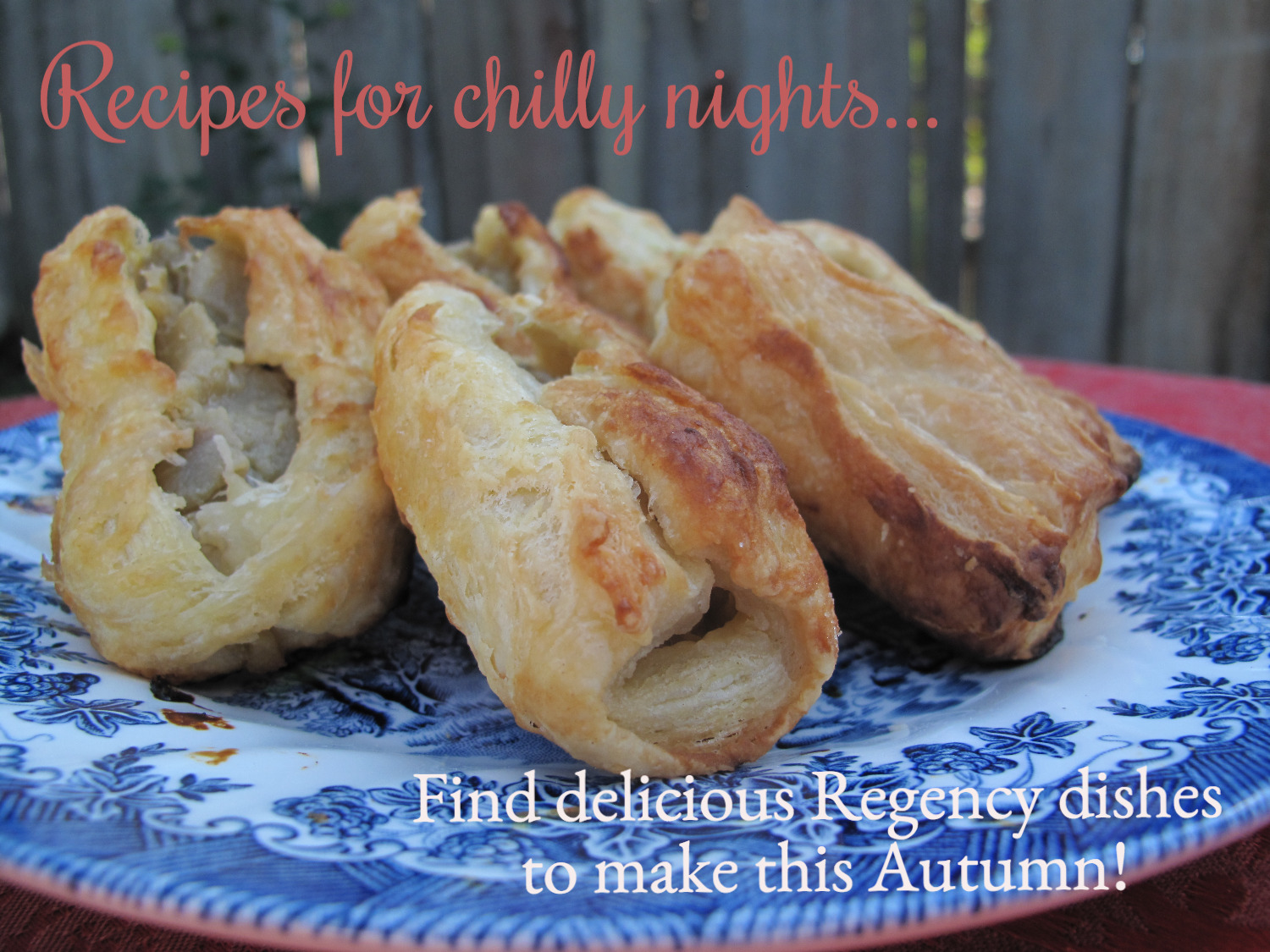 Autumn Regency Recipes