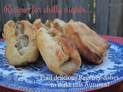 Autumn Regency Recipes