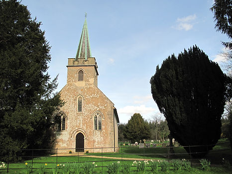 The church Jane Austen grew up attending in Steventon