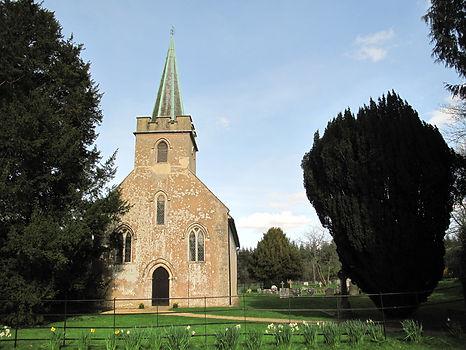 The church Jane Austen grew up attending in Steventon