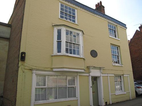 College Street in Winchester where Jane Austen died