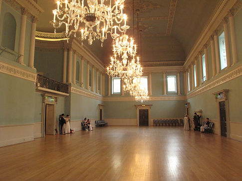 Inside the Assembly Rooms